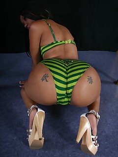 Black Stripper Pics