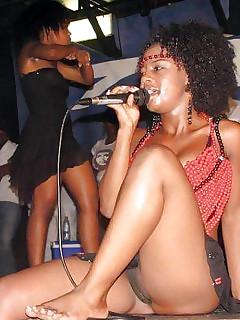 Ebony pussy upskirt pics