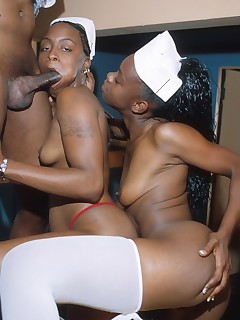 Black 3some Pics