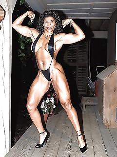 Black Muscle Women Pics